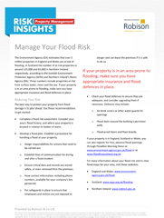 Property Risk Insights Manage Your Flood Risk