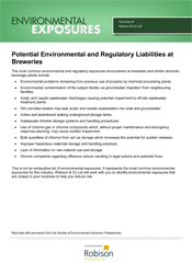 Environmental Exposures Breweries