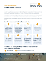 Robison A4 - Professional Services