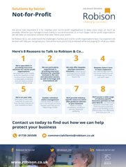 Not-for-Profit 8 Reasons Fact Sheet