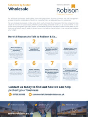 Wholesale 8 Reasons Fact Sheet
