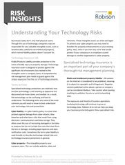 Risk Insights Understanding Your Technology Risks
