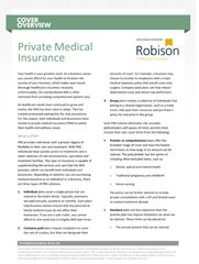 Cover Overview Private Medical Insurance